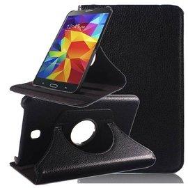 Merkloos Samsung Galaxy Tab 4 7.0 inch Tablet hoesje cover 360 graden draaibaar met Multi-stand kleur Zwart