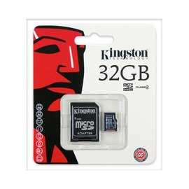 Kingston Kingston MICRO SD 32GB OEM met SD ADAPTER