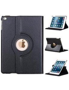 Merkloos Apple iPad (2017) 360 graden draaibare hoesje - Zwart