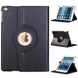 Merkloos Apple iPad (2017) 360 graden draaibare Hoes - Zwart