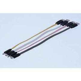 Merkloos Micro USB Oplaadkabel en Datakabel (25cm)