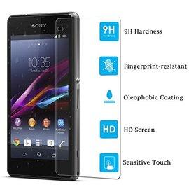 Merkloos Sony Xperia Z1 Compact Tempered Glazen Screen protector