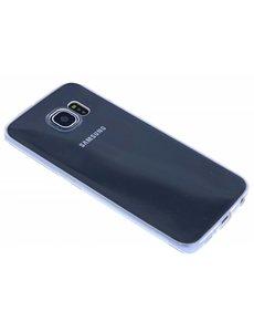 Merkloos Transparant Soft Silocone Hoesje Samsung Galaxy S6 Edge