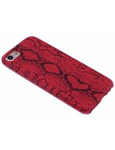 Merkloos Rood Slangen Design TPU Hoesje iPhone 8 / 7