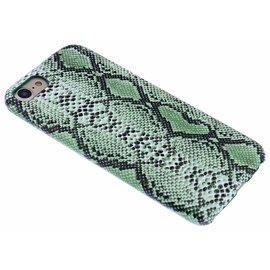 Merkloos Groen Slangen Design TPU Hoesje iPhone 8 / 7