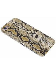 Merkloos Geel Slangen Design TPU Hoesje iPhone 8 / 7