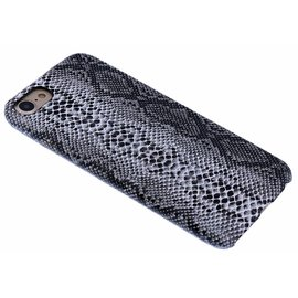 Merkloos Zwart Slangen Design TPU Hoesje iPhone 8 / 7