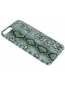 Merkloos Groen Slangen Design TPU Hoesje iPhone 8 / 7 Plus