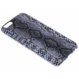 Merkloos Zwart Slangen Design TPU Hoesje iPhone 6 / 6S