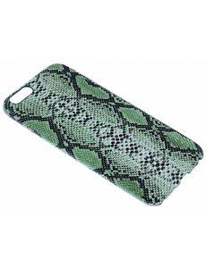 Merkloos Groen Slangen Design TPU Hoesje iPhone 6 / 6S