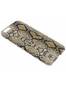 Merkloos Geel Slangen Design TPU Hoesje iPhone 6 / 6S