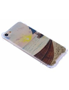 Merkloos Antishock & Strand Design TPU Hoesje iPhone 8 / 7