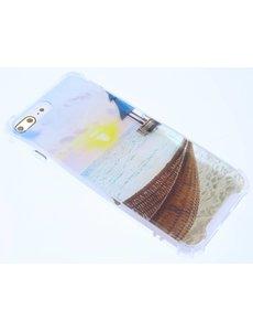 Merkloos Antishock & Strand Design TPU Hoesje iPhone 8 / 7 Plus