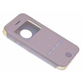 G-Case G-Case Rose Goud Window Viewer Shell Suit Hoesje iPhone 5 / 5S / SE