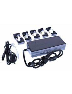 Nillikin Universal Notebook Power AC Adapter met 10 Verschillende Connectors (90 W)