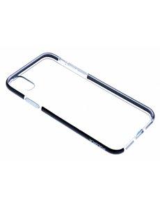Puloka Puloka Zwart Transparant Anti Shock Back hoesje iPhone X / Xs