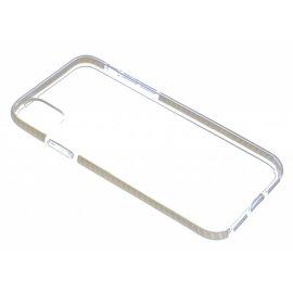 Puloka Puloka Goud Transparant Anti Drop Shock TPU Hoesje iPhone X / Xs