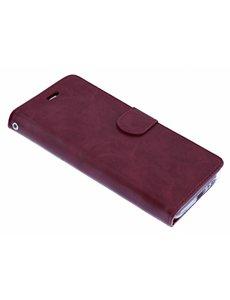 Merkloos Bordeaux Book Case Kunstleer & TPU Hoesje Samsung Galaxy A5 (2018)