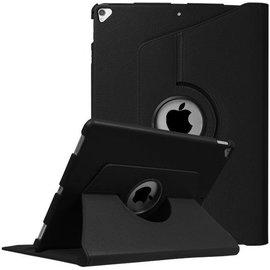 Merkloos - iPad Pro 12.9 (2017) hoesje Case Cover 360° draaibaar Multi stand Zwart