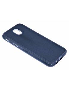 Merkloos Zwart Glitter TPU Hoesje Samsung Galaxy J7 (2017)