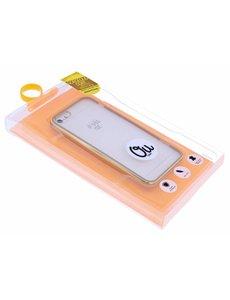OU case Goud OU Case Ultra Dun Transparant Hoesje iPhone 5 / 5S / SE