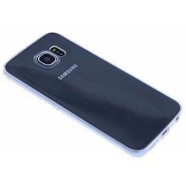 OU case Ou Case Transparant Ultra thin Siliconen TPU Hoesje Samsung Galaxy S6 Edge Plus