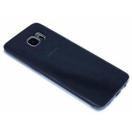OU case Ou Case Transparant Ultra thin Siliconen TPU Hoesje voor de Samsung Galaxy S7 Edge