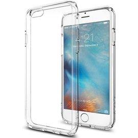 OU case Ou Case Transparant Ultra thin Siliconen TPU Hoesje iPhone 6 / 6S Plus