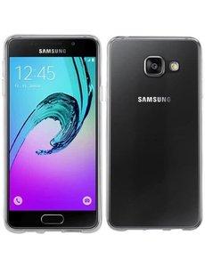 OU case Ou Case Transparant Ultra thin Siliconen TPU Hoesje Samsung Galaxy A3 (2016)