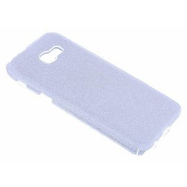 Merkloos Zilver Glitter TPU Hoesje Samsung Galaxy A3 (2017)