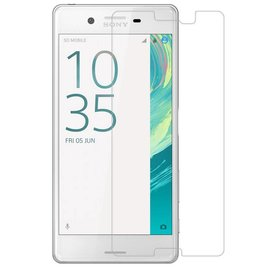 Merkloos 2 Pack - Sony Xperia X glazen Tempered Glass / Screen protector 2.5D 9H (0.3mm)