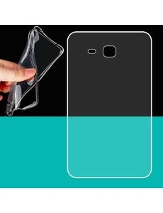 Merkloos Transparante TPU Siliconen Hoesje Samsung Galaxy Tab A 7.0 inch T285