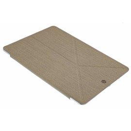 OU case OU Case Gold TPU Leather Flip Cover Met Standaard iPad Air 2