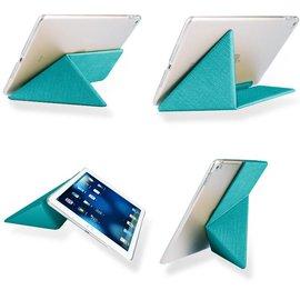 OU case OU Case Blauw TPU Leather Flip Cover Met Standaard iPad Pro 9.7 inch