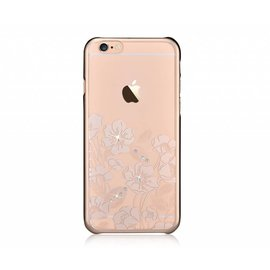 Devia Devia Champagne Goud Crystal Rococo PC Transparant Back Cover Hoesje iPhone 6 / 6S