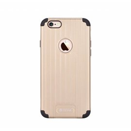 Devia Devia Champagne Goud Suitcase TPU & PC Kunststof Back Cover iPhone 6 / 6S