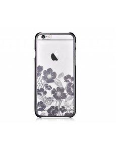 Devia Devia Zwart Crystal Rococo PC Transparant backcover Hoesje iPhone 6 / 6S Plus