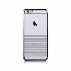 Merkloos Devia Zilver Transparant Met Streepjes PC Hard Cover Melody iPhone 6 / 6S