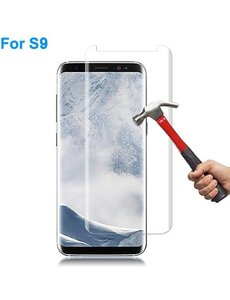 Merkloos Curved Ballistic Samsung Galaxy S9 3D Tempered Glass / Screenprotector Clear