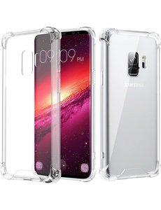 Merkloos Samsung Galaxy S9 Transparent Anti-Burst Hoesje / Shock Proof