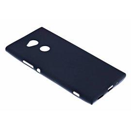Merkloos Sony Xperia XA2 Case Zwart TPU Hoesje Matte Finish Slim Profile