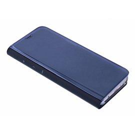 Merkloos Zwart LED Flip Cover Hoesje Samsung Galaxy S8 Plus