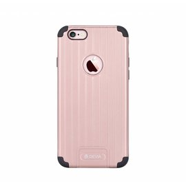 Devia Devia Rose Goud Suitcase TPU & PC Kunststof Back Cover iPhone 6S Plus / 6Plus 5.5