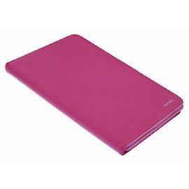 Nuoku Nuoku Roze TPU BookType Hoesje met Standaard iPad mini 3 / 2 / 1
