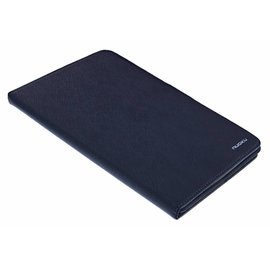 Nuoku Nuoku Zwart TPU BookType Hoesje met Standaard  iPad mini 3 / 2 / 1