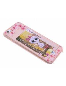 OU case Poesje & Bloemen Rose Goud TPU backcover iPhone 6 / 6S
