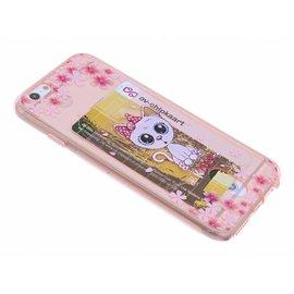 OU case Poesje & Bloemen Rose Goud TPU Back Cover iPhone 6  / 6S