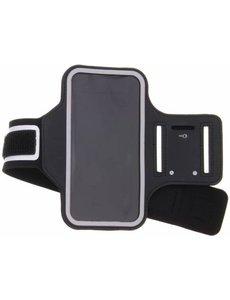 Merkloos Zwart sportarmband Sony Xperia XA2