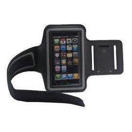Merkloos Galaxy Note 4 sport armband Zwart