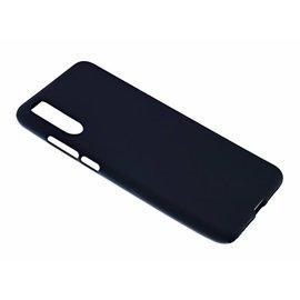 Merkloos Huawei P20 Case Zwart TPU Hoesje Matte Finish Slim Profile